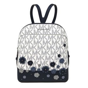 Michael Kors Emmy Small Floral Signature Backpack